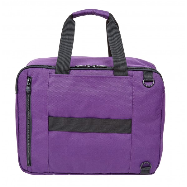 "15.6"" Falcon Laptop 3 Way Bag - FI1008Purple"