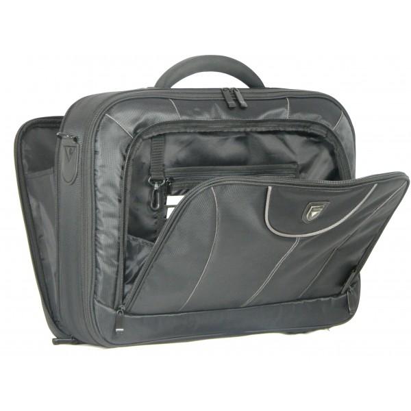 "17"" Falcon Laptop Case - FI2545 Black and Grey"