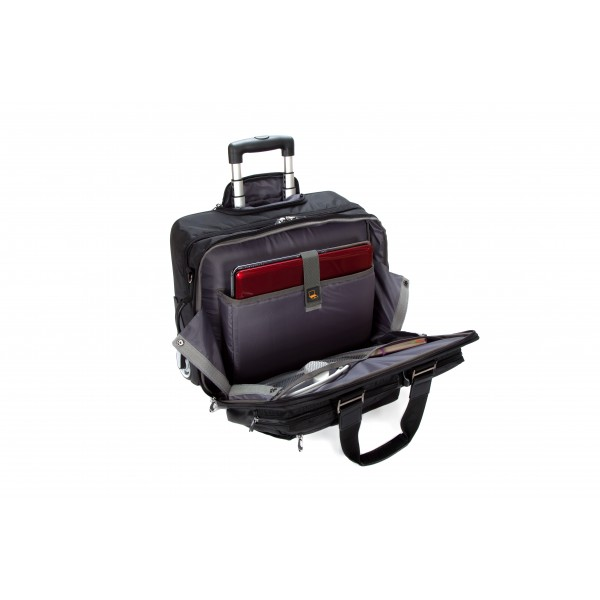 "17"" Falcon Mobile Trolley Case - FI2563 Black"