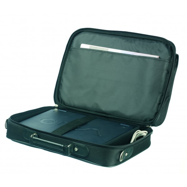 "Falcon 16"" Laptop Briefcase - FI2575 Black"