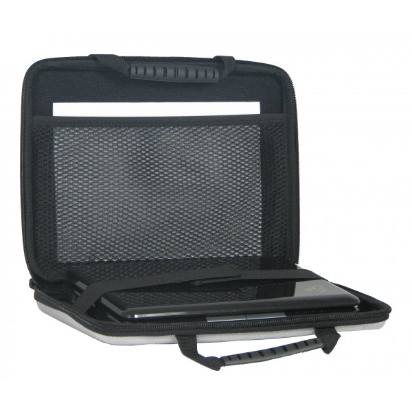 "10.6"" Falcon Moulded Eva Laptop Case - FI2722 Silver"