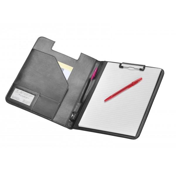 A4 Falcon Conference Folder with Clipboard - FI6539 Black