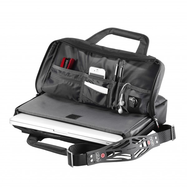 "i-stay 15.6"" Slimline Laptop Bag is0102 Black"