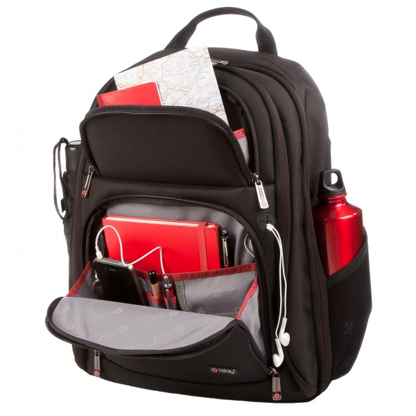"i-stay 15.6"" Laptop/Tablet Backpack is0204 Black"