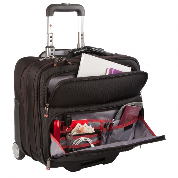 "i-stay 15.6"" Laptop/Tablet Business Trolley Case - is0205 Black"