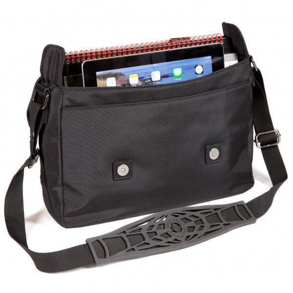 "i-stay 10.1"" iPad/Tablet Messenger Bag - is0701 Black"
