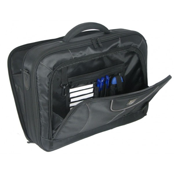 "Falcon 17"" Laptop Case - FI2545 Black and Grey"