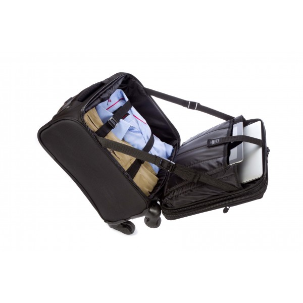 "15.6"" Falcon 4 Wheeled Mobile Laptop/Tablet Business Trolley - FI2562T Black"