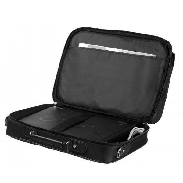 "Falcon 15.6"" Laptop Briefcase - FI2575 Black"