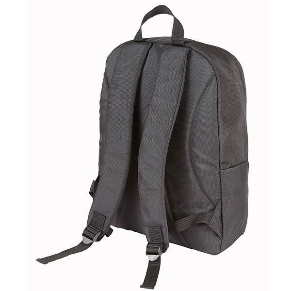 "Falcon Polyester 15.6"" Laptop Backpack - FI2614 Black"