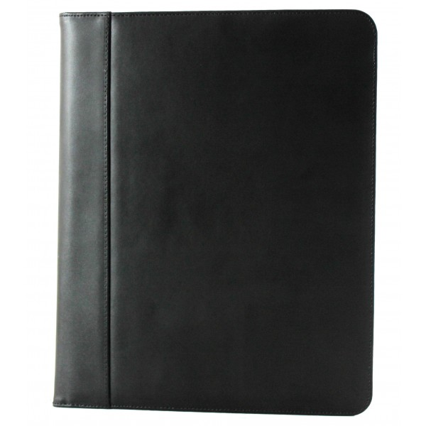 Falcon A4 Bonded Leather Conference Folder - FI6508 Black