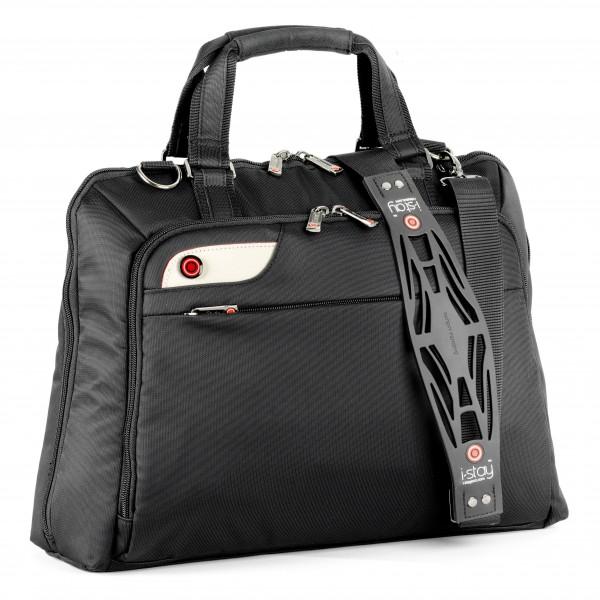 """i-stay Ladies 15.6"""" Laptop Bag is0106 Black"""
