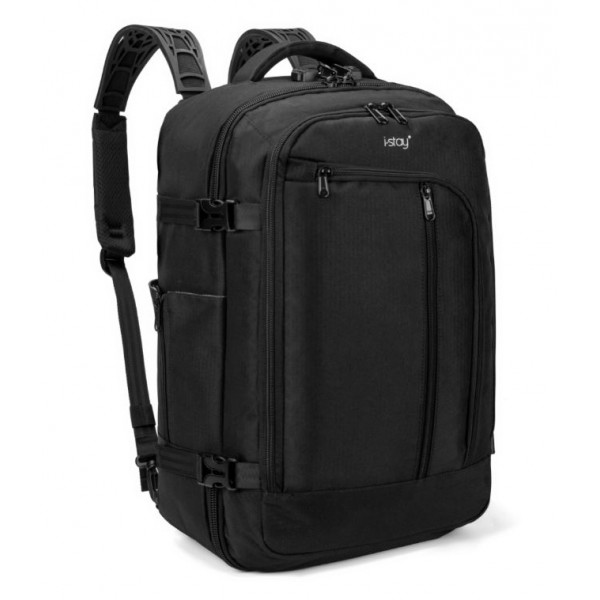 "i-stay 15.6"" Laptop Cabin Backpack – is0214 Black"