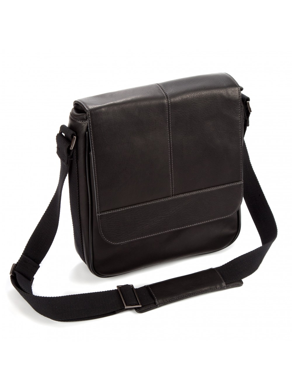"Falcon Colombian Leather 10.1"" iPad/Tablet Bag - FI6701 Black"