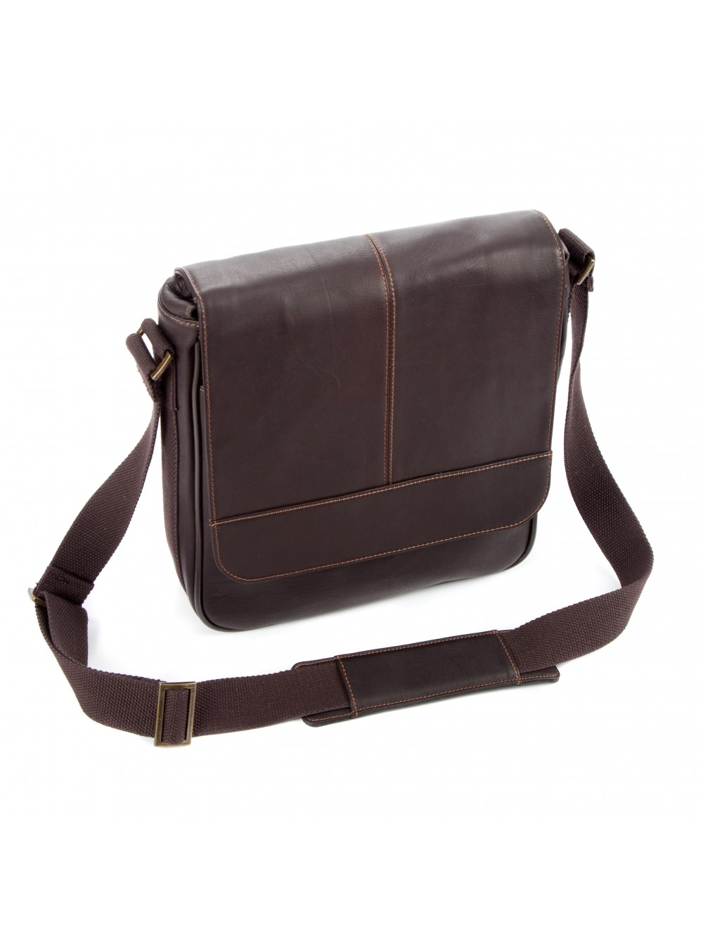 """Falcon Colombian Leather 10.1"""" iPad/Tablet Bag - FI6702 Brown"""