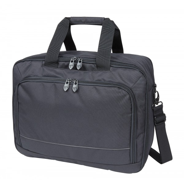 "15.6"" Falcon Laptop 3 Way Bag - FI1007 Black"