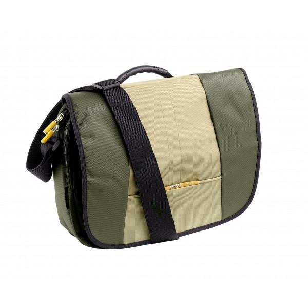 "Falcon Diamond 14"" Laptop Messenger Bag - FI2535 Green"