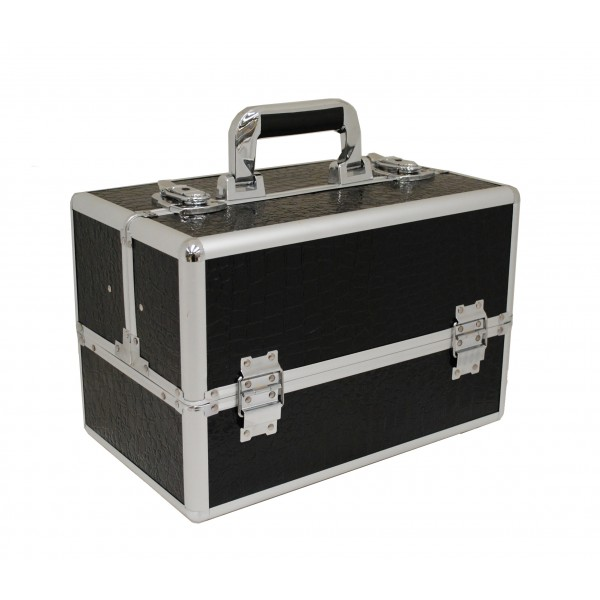 Vanity Flair Large Vanity Case - FI2801 Black