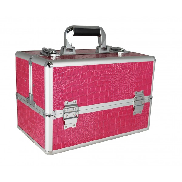 Vanity Flair Large Vanity Case - FI2803 Pink