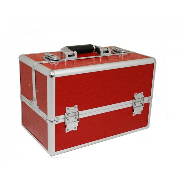 Vanity Flair Large Vanity Case - FI2805 Red