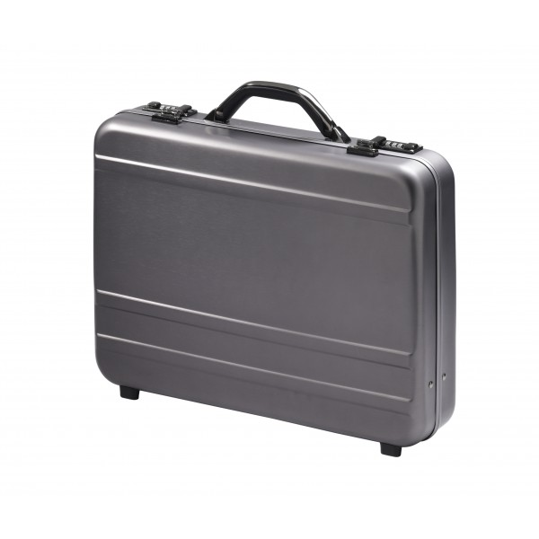 "Falcon Aluminium 17"" Laptop Case - FI2996 Gun Metal"