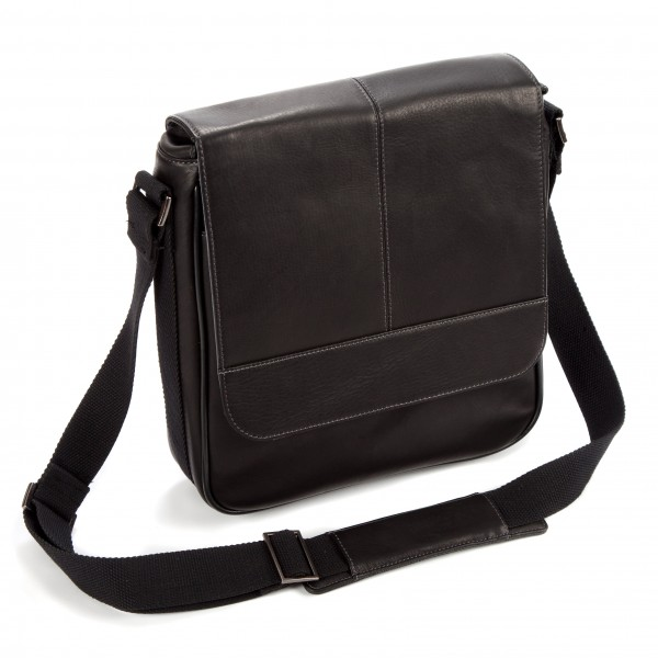 "Falcon Colombian Leather 10.1"" iPad/Tablet Bag - FI6701 Black"