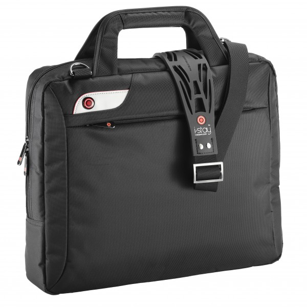 "i-stay Slimline 15.6"" Laptop Bag is0102 Black"