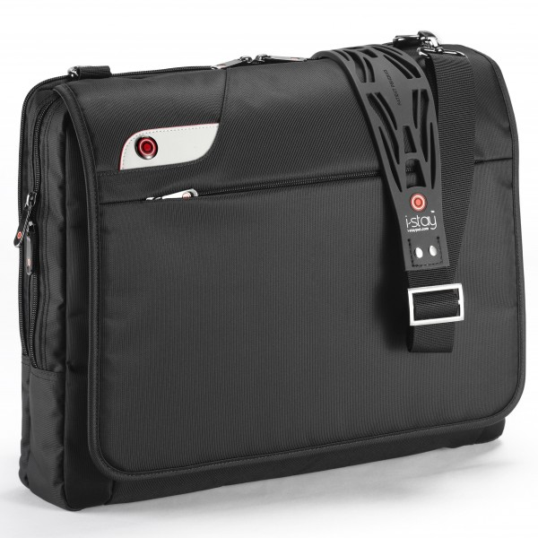"i-stay 15.6"" Laptop Messenger Bag is0103 Black"