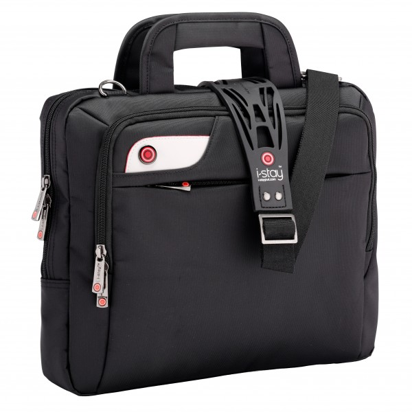 "i-stay 13.3"" Laptop Bag is0107 Black"