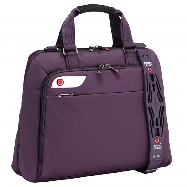 "i-stay Ladies 15.6"" Laptop Bag is0126 Purple"