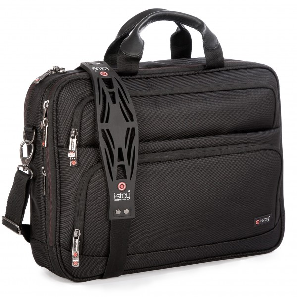 "i-stay 15.6"" Laptop/Tablet Organiser Bag is0203 Black"
