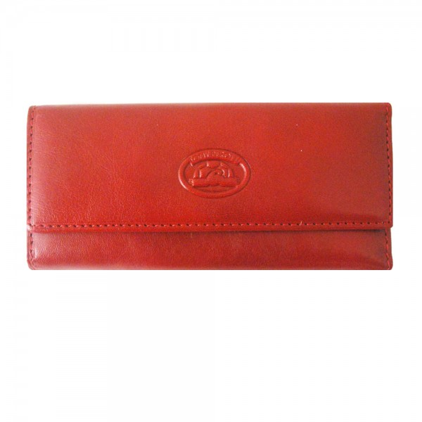 Tony Perotti Italian Versilia Leather 4 Ring Key Case - TP0344 Red