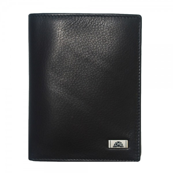 Tony Perotti Contatto Italian Soft Leather Wallet - TP2634 Black