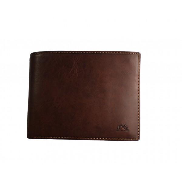 Tony Perotti Italian Vegetale Leather Wallet - TP2993G Brown