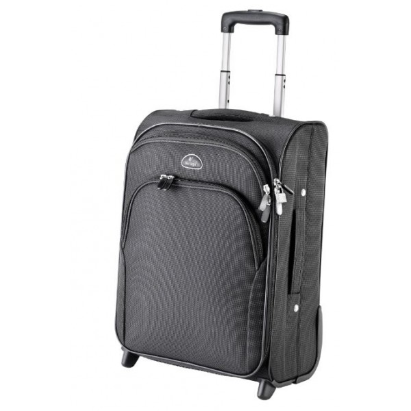 "Falcon 2 Wheeled 15.6"" Laptop Cabin Case - FI1004T Black"