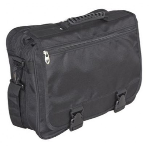 "Falcon 15.6"" Laptop Organiser Bag - FI2557 Black"