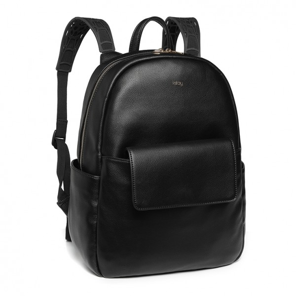 "i-stay 13.3"" Laptop & Tablet Backpack with Magnetic Clutch Bag - Black"