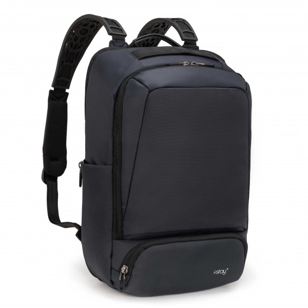 "15.6"" Anti-theft Laptop & Tablet Overnight Backpack With RFID Pocket - Navy"