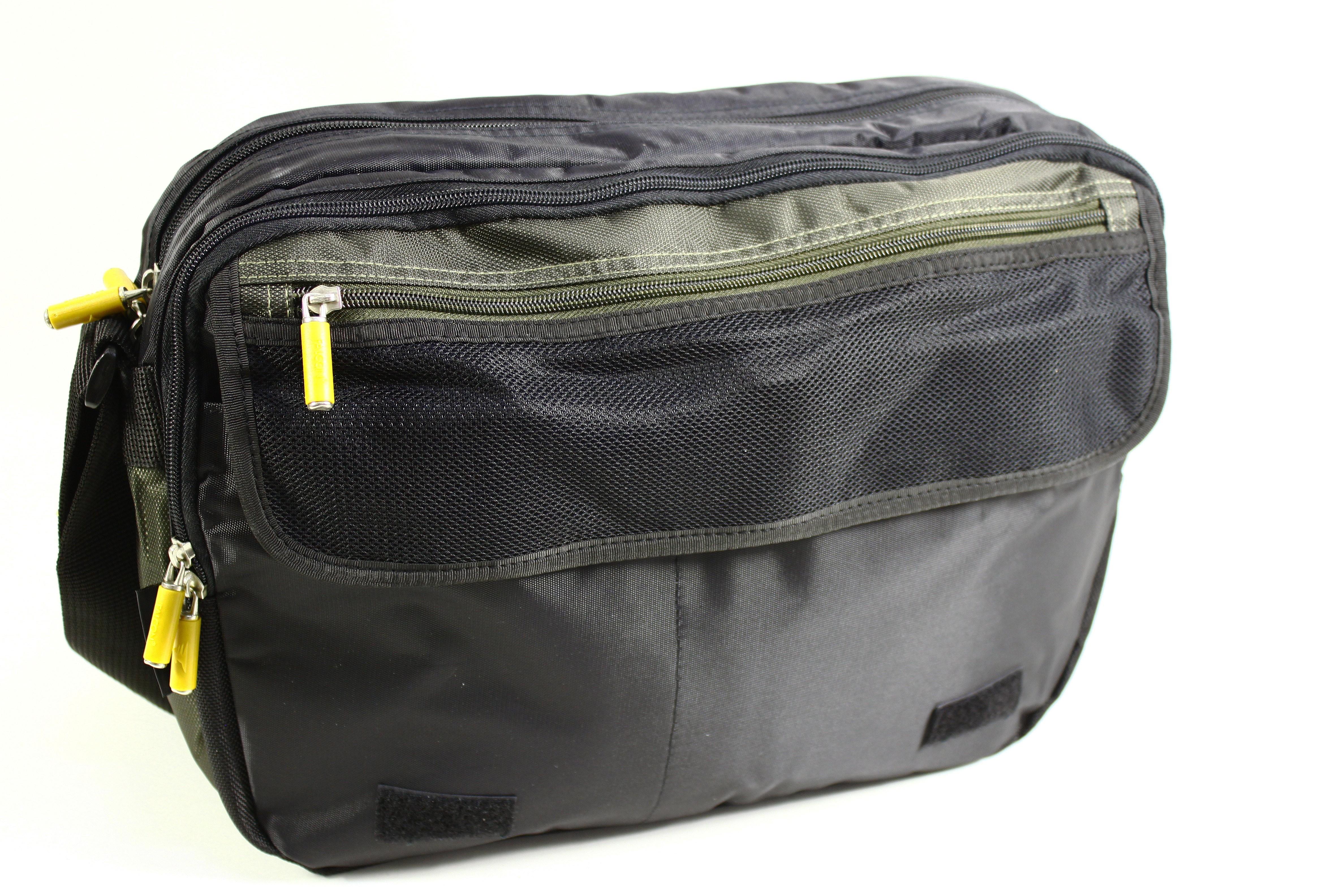 14 Falcon Diamond Laptop Messenger Bag Fi2535 Green