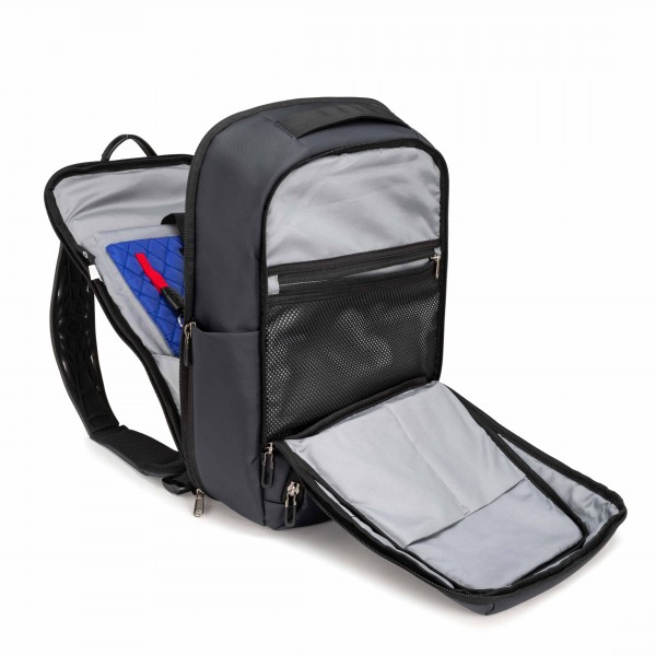 "i-stay 15.6"" Anti-theft Laptop & Tablet Overnight Backpack With RFID Pocket - Navy"