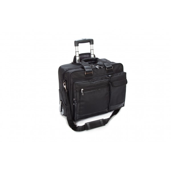 "17"" Falcon Mobile Trolley Case - FI2563 Black"