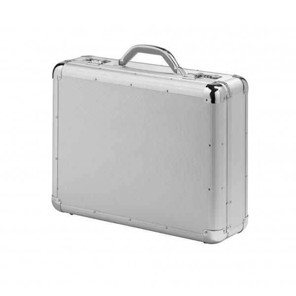 Falcon Aluminium & ABS Briefcase - FI2992 Silver