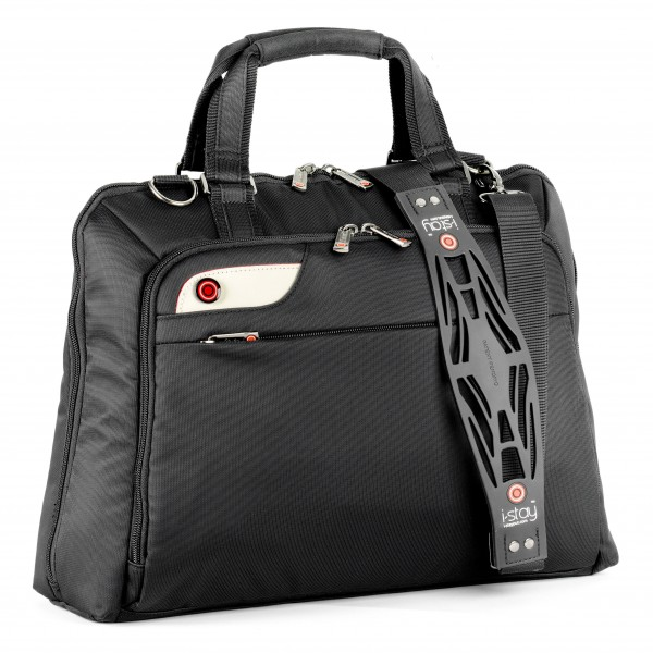 "i-stay Ladies 15.6"" Laptop Bag is0106 Black"